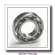 35 mm x 72 mm x 17 mm  NTN 6207ZZ deep groove ball bearings
