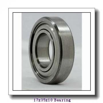17 mm x 35 mm x 10 mm  NKE 6003-2Z deep groove ball bearings