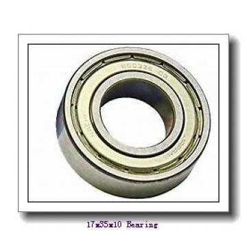 17 mm x 35 mm x 10 mm  NACHI 7003 angular contact ball bearings