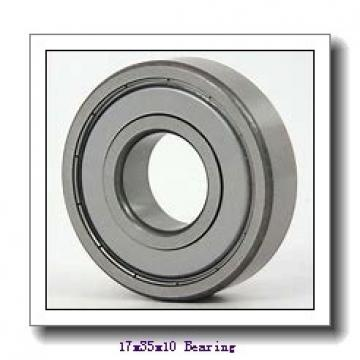 17 mm x 35 mm x 10 mm  ZEN 6003-2Z deep groove ball bearings