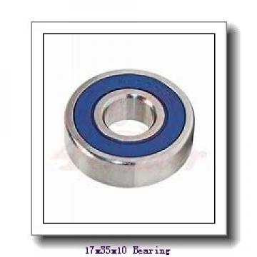 17 mm x 35 mm x 10 mm  KOYO NC6003 deep groove ball bearings