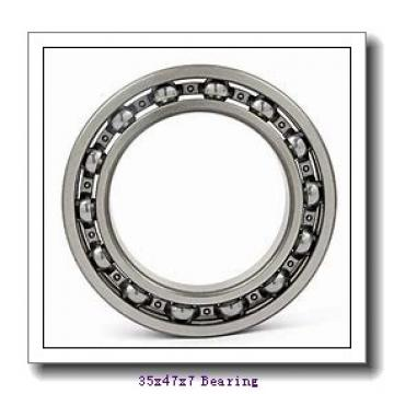 35 mm x 47 mm x 7 mm  NACHI 6807ZENR deep groove ball bearings