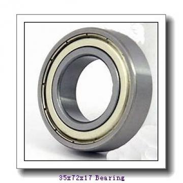 35 mm x 72 mm x 17 mm  NSK 6207N deep groove ball bearings