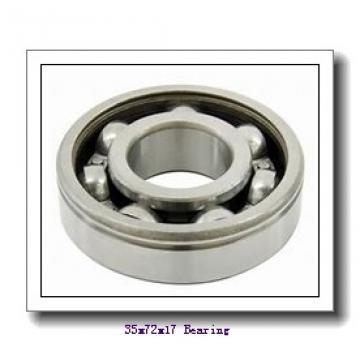 35 mm x 72 mm x 17 mm  NTN 7207BDB angular contact ball bearings
