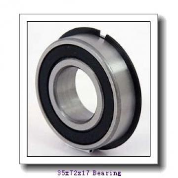 35 mm x 72 mm x 17 mm  NTN NJ207E cylindrical roller bearings