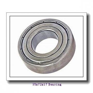 35 mm x 72 mm x 17 mm  FBJ 6207 deep groove ball bearings