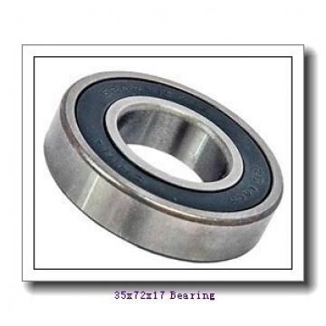 35 mm x 72 mm x 17 mm  FAG 6207-2Z deep groove ball bearings