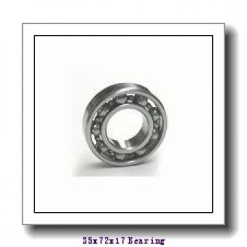 ISO QJ207 angular contact ball bearings