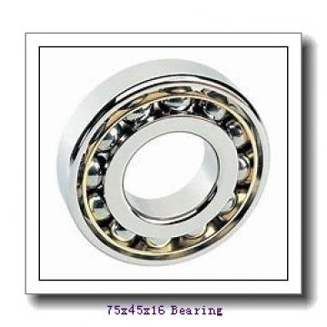 45 mm x 75 mm x 16 mm  SKF S7009 ACD/HCP4A angular contact ball bearings