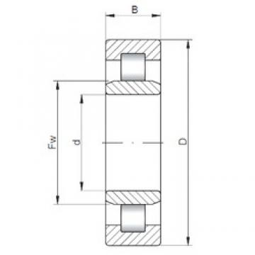 40 mm x 80 mm x 18 mm  ISO NU208 cylindrical roller bearings