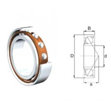 40 mm x 80 mm x 18 mm  ZEN 7208B angular contact ball bearings
