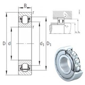 35 mm x 72 mm x 17 mm  INA BXRE207-2Z needle roller bearings