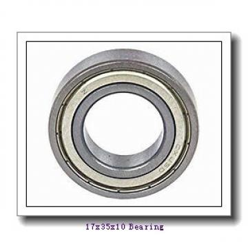 17 mm x 35 mm x 10 mm  NACHI 6003NSE deep groove ball bearings