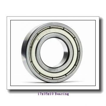 17 mm x 35 mm x 10 mm  KOYO 7003C angular contact ball bearings