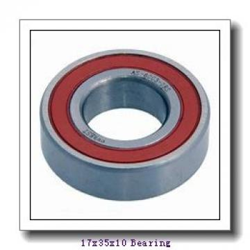 17 mm x 35 mm x 10 mm  FBJ 6003 deep groove ball bearings
